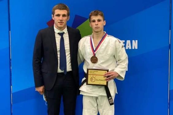 Харьковский дзюдоист стал призером Кубка Европы