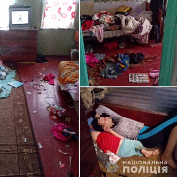 В Харьковской области у пьяной матери, которая ведет аморальный образ жизни забрали четверых детей