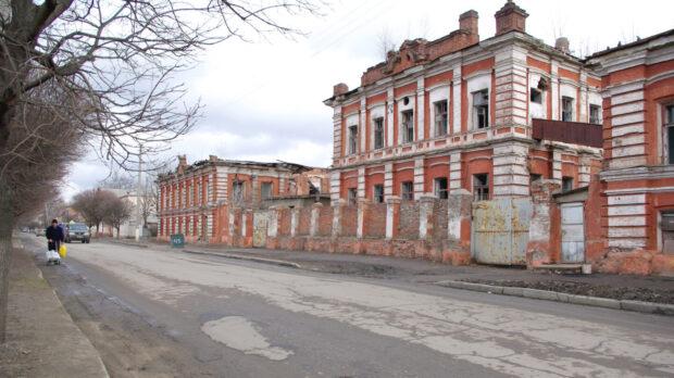 Руины кондитерской фабрики Кромского