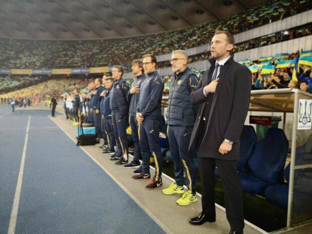 Шевченко покидает пост главного тренера сборной Украины