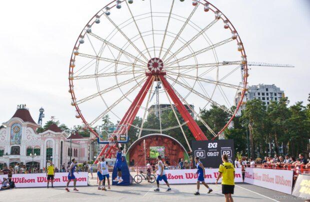 В Харькове состоялся чемпионат Украины по баскетболу 3х3