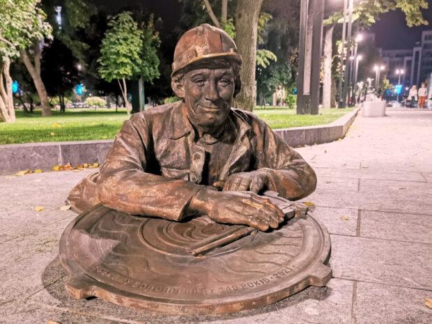 На площади Свободы появился новый памятник