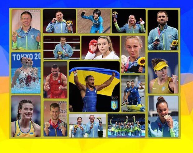 На Олимпийских играх в Токио Украина завоевала 19 медалей