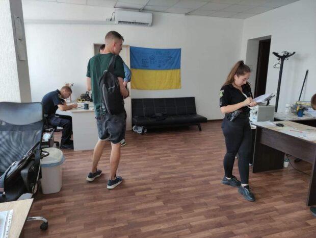 В Харькове ограбили офис Харьковского антикоррупционного центра