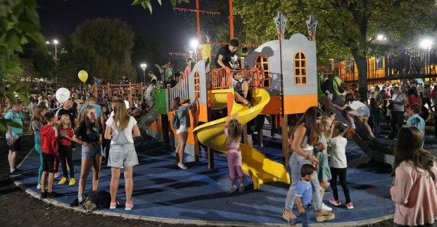В Харькове после реконструкции открылся парк «Юность»