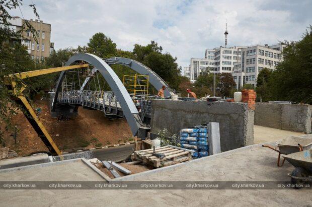 Зоологический мост готовят к открытию в День города