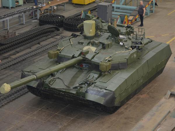 В Харькове изготовили танк «Оплот», который примет участие в параде ко Дню Независимости