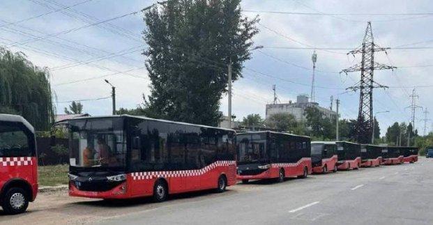 В Харьков прибыла первая партия турецких автобусов «Карсан»