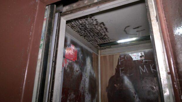Падал шесть этажей: на Салтовке родители с младенцем успехи выйти из лифта