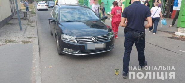 В Харькове на пешеходном переходе сбили девушку