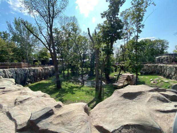 Харьковский зоопарк заработал после пятилетней реконструкции