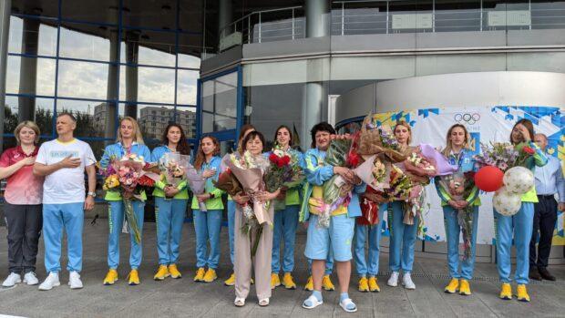 В Харькове встретили бронзовых призеров в синхронном плавании XXXII Олимпийских игр - 2020 в Токио
