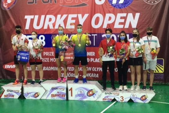 Харьковчанка завоевала два «золота» «Turkey U17 Open 2021»