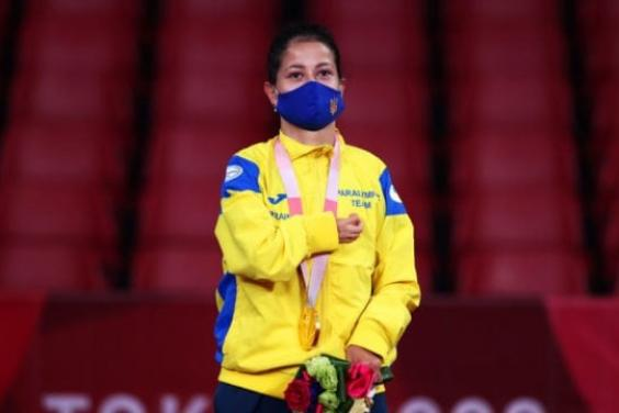Харьковчанка завоевала «золото» Паралимпиады в Токио