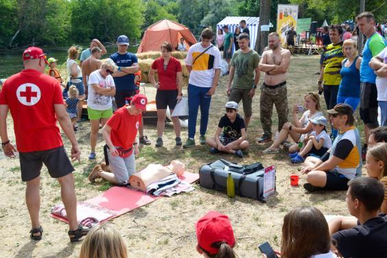 В Харьковской области прошел туристический палаточный фестиваль
