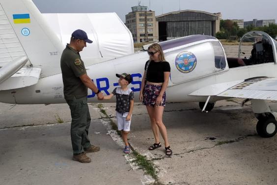 В Харькове осуществилась мечта сына погибшего на Донбассе десантника