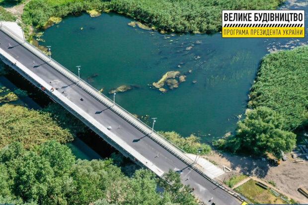 Завершается ремонт моста на выезде из Чугуева
