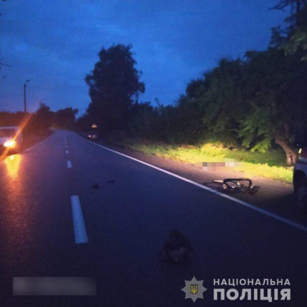 В Харьковской области насмерть сбили велосипедистку