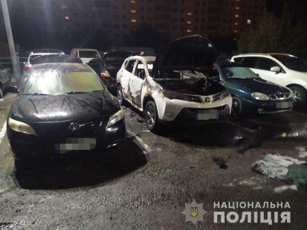 Пожар на парковке в Харькове: камеры видеонаблюдения выключили за день до происшествия