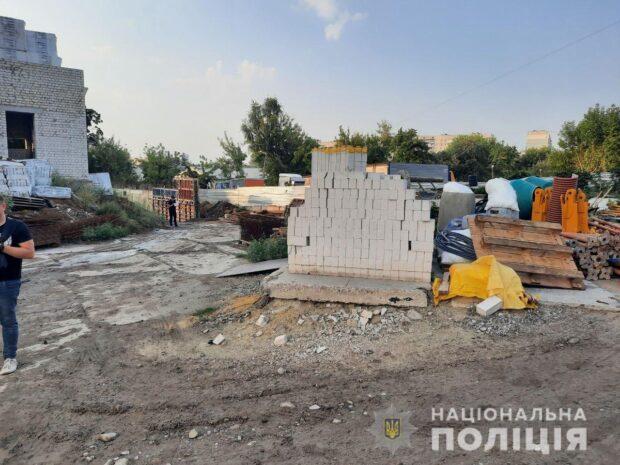 Гибель рабочего на стройке в Харькове: полиция открыла уголовное дело