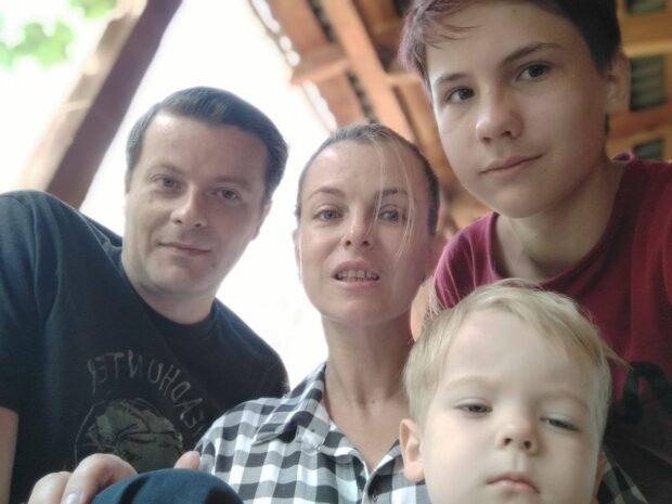 Семья Ирины Потаниной