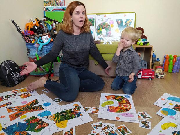 Ирина Потанина с младшим сыном