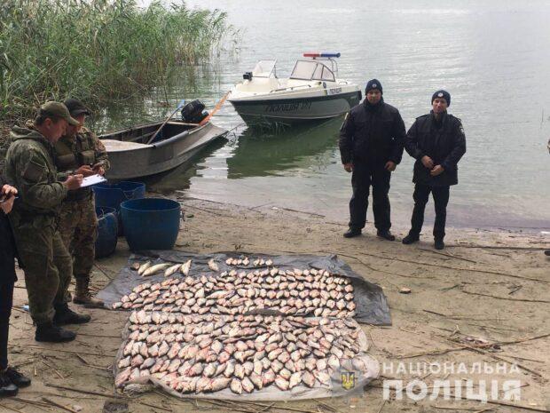 В Харьковской области мужчина незаконно выловил 77 кг рыбы