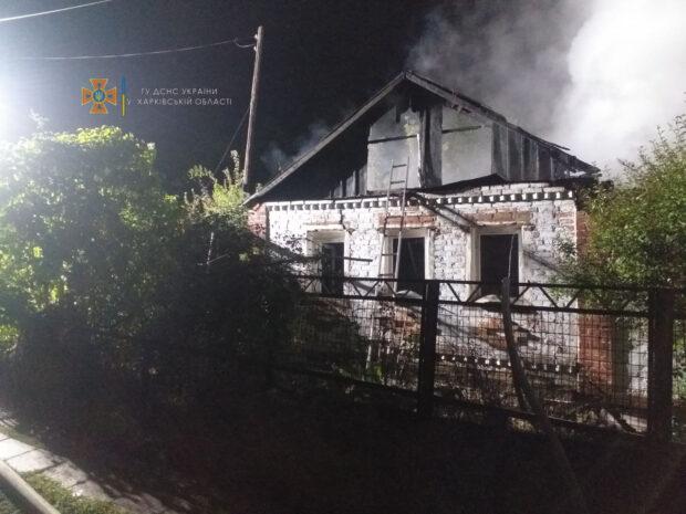Под Харьковом на месте пожара обнаружили обгоревшее тело мужчины