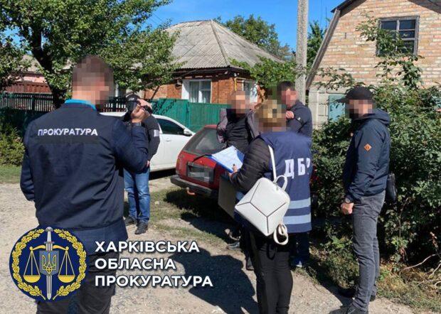 В Харькове на взятке задержали заместителя начальника одного из секторов отдела полиции