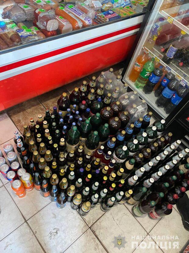 В Харькове в магазине изъяли более 260 литров алкоголя