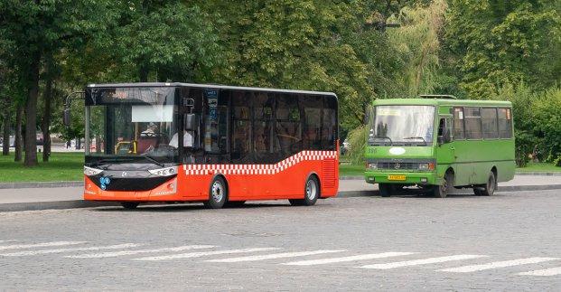 В Харькове турецкие автобусы «Карсан» выходят на новые маршруты