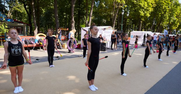В парке Горького пройдет 8-й спортивный фестиваль