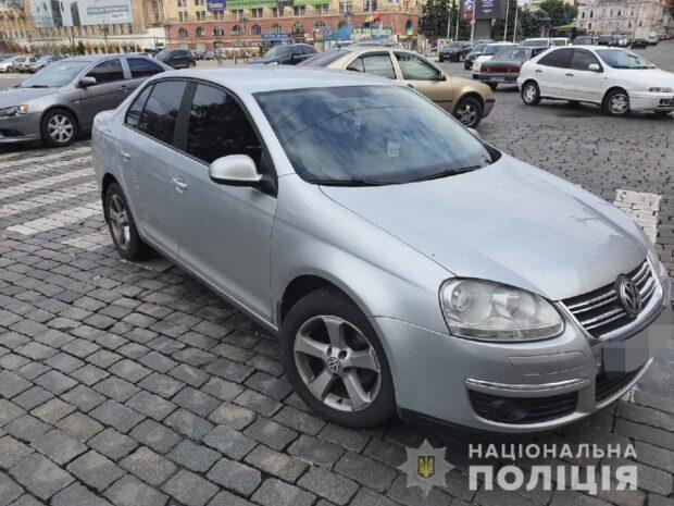 В центре Харькова ребенок попал под автомобиль