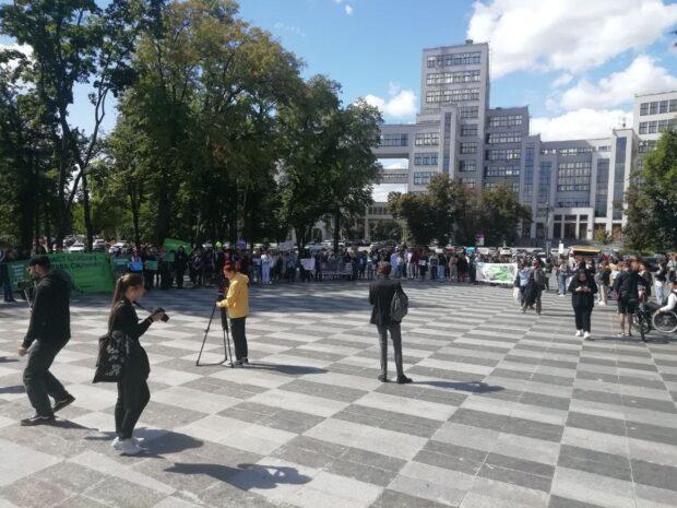 Харьков присоединился к всеукраинскому Маршу за права животных