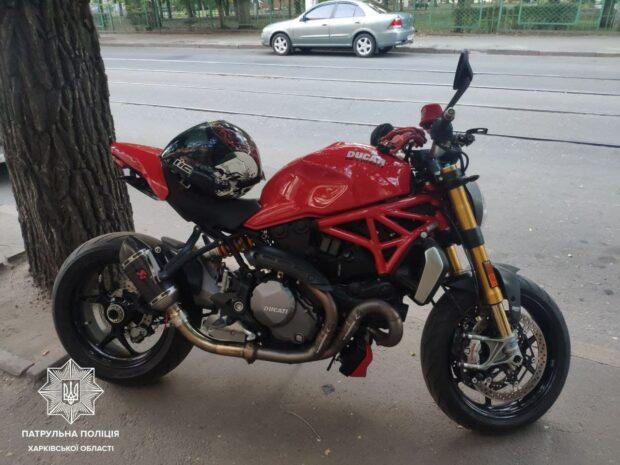 В Харькове обнаружили два мотоцикла, которые похитили в Италии
