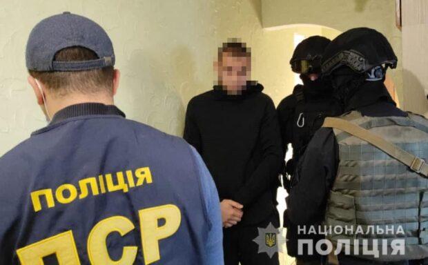 Харьковские полицейские сообщили о подозрении 13-м участникам преступной группировки