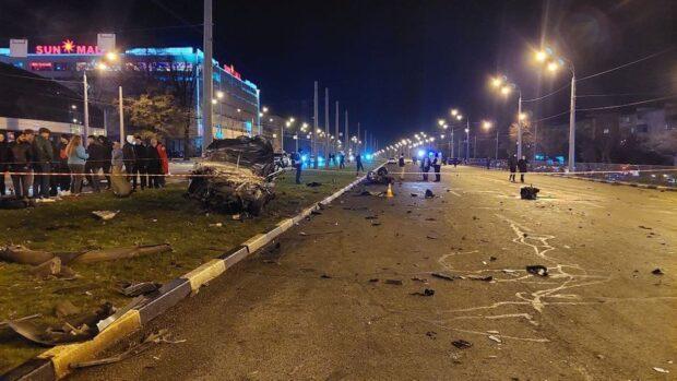 Автокатастрофа на проспекте Гагарина: один из водителей двигался со скоростью более 100 км/час