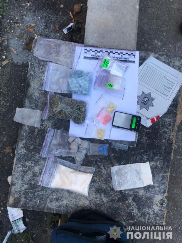В Харькове задержали наркосбытчика