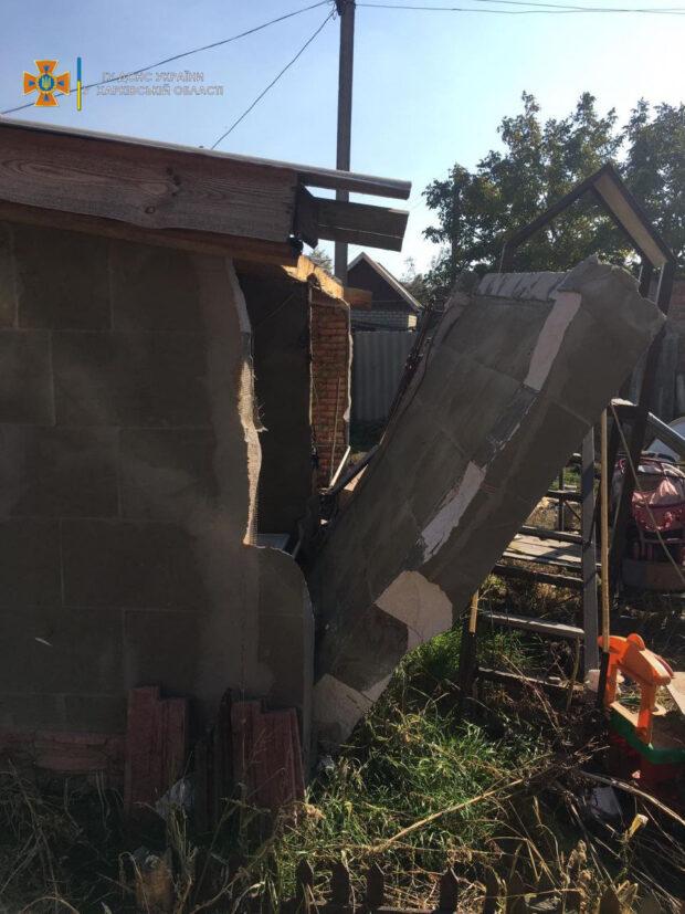 В доме на Харьковщине взорвался бытовой газ: пострадал хозяин дома