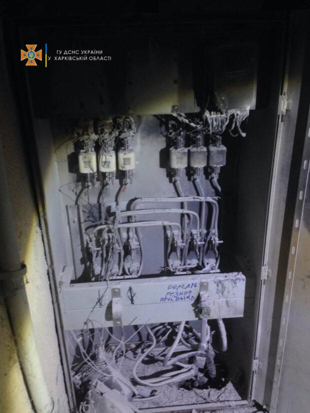 В Харькове во время задымления в жилом 9-этажном доме эвакуировали троих человек