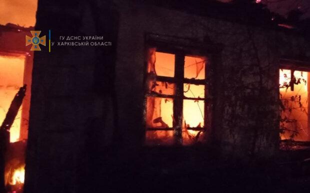 В Харьковской области на пожаре погибла семья