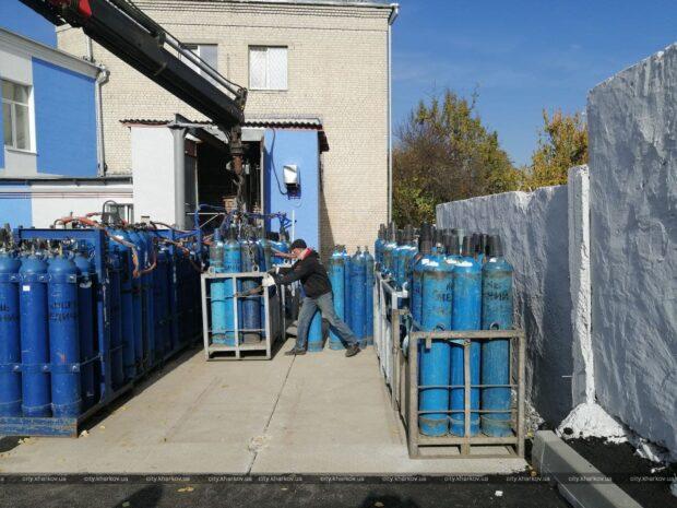 В 13-й больнице Харькова установили кислородную станцию