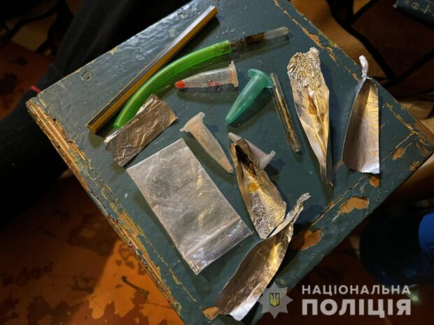 В Московском районе Харькова ликвидировали наркопритон
