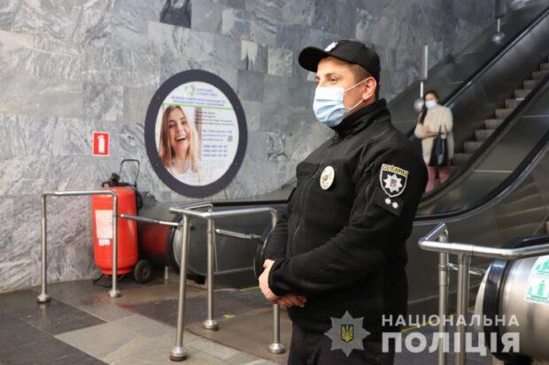 На прошлой неделе на Харьковщине полицейские обнаружили 326 нарушителей масочного режима